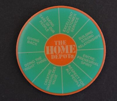 Home Depot Values Apron Pin