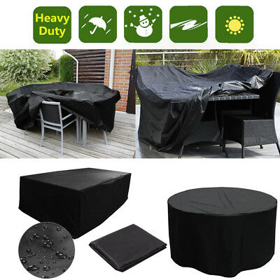 Large Waterproof Garden Patio Furniture Cover for Outdoor Rattan Table Day Bed
