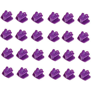 24pcs Dental Silicone Mouth Prop Bite Block Cushion Opener Retractor small size