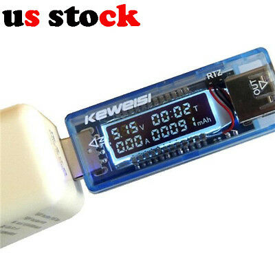 KEWEISI 4V-20V 0-3A Usb Charger Power Battery Capacity Tester Current Voltage Me