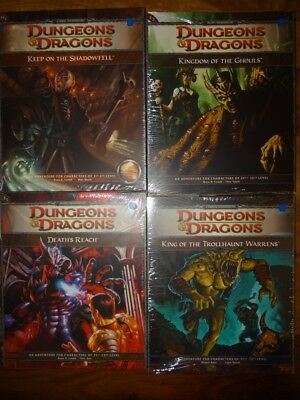 D&D 4e Adventure - NEW SEALED & still in SHRINK WRAP (D&D 4 Edition TSR)