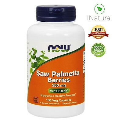 Saw Palmetto for Prostate, Hair Loss and Urinary Health 540mg - 100/250 Capsules