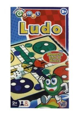 New Individual Traditional Magnetic Travel Game - Ludo In Handy Case Kids Child