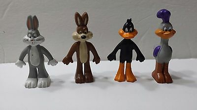 Vintage Warner Bros Looney Toons Arbys 1988 Donald Duck Bugs Bunny Road Runner