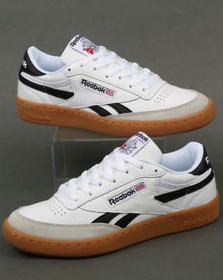 amp; White Revenge Trainers In Gum Reebok Black Plus Leather Grey O0Xwqn7