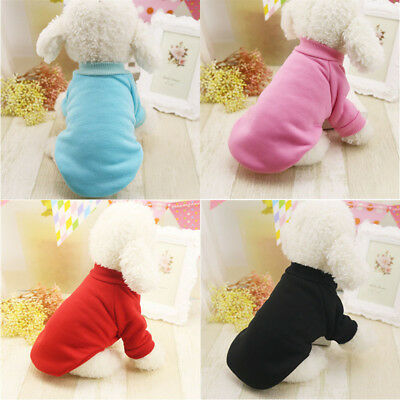 For Small Pet Dog Cat Puppy Sweater Coat Warm Costume Clothes Apparel Chihuahua