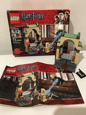 Lego 4736 - Harry Potter Freeing Dobby - Near Complete - No Minifigures