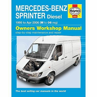 Haynes Mercedes-Benz Sprinter (95 - 06) M-06 Reg - Car Manual (4902C)