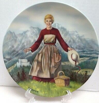 """""""The Sound of Music"""" Collector's Plate by T. Crnkovich First Edition"""