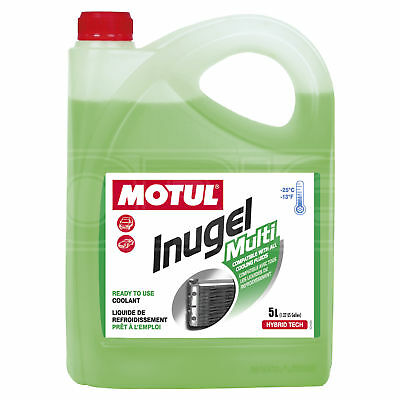 Motul Inugel Multi -25°C Antifreeze / Coolant - Ready to use - 5 Litres 5L