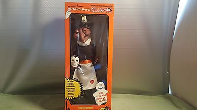 """Vintage Witch 16 """" Telco Motionettes Of Halloween Animated & Illuminated Sound"""