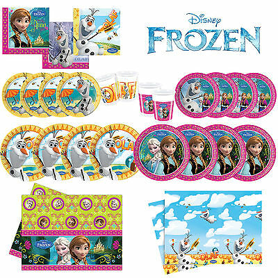 Disney FROZEN Princess Birthday Party Tableware Decorations Accessories Job Lot