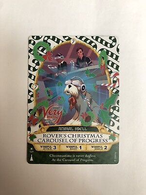 Mickey's Very Merry Christmas Party Sorcerers of the Magic Kingdom Card 2017.