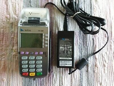 VeriFone VX520 EMV Credit Card Machine NO Chip Reader w/Power Adapter, Tested