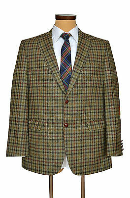 Mens Barbour Tweed Sport Jacket Blazer Check Hunting Shooting EU 54 UK 44
