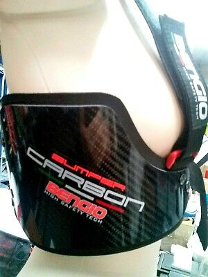 Paracostole BENGIO HIGH SAFETY TECH mod BUMPER STD M carbon made in ITALY