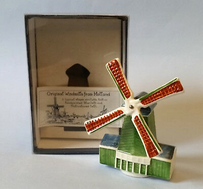 Rare 1988 Royal Goedewaagen Hand Painted Delft Historic Windmills Series No 6