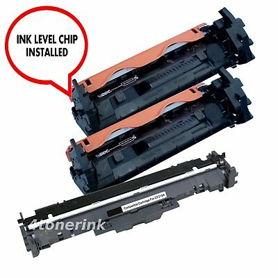 CF219A Drum & 2x CF217A 17A Toner Set For Hp Lasejet M130fn M130nw M102w M102a