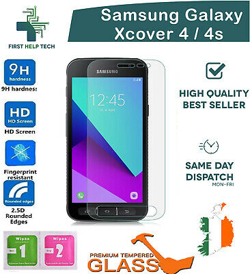 For Samsung Galaxy Xcover 4 Premium Tempered Glass Screen Protector Guard Film