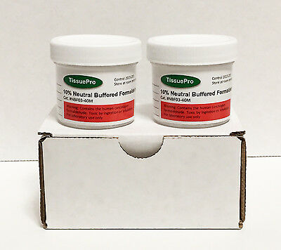 10% Neutral buffered formalin 40 ml (pack of 2) from TISSUEPRO