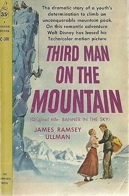 Third Man on the Mountain James Ramsey Ullman 1959 Vintage Paperback Very Good +