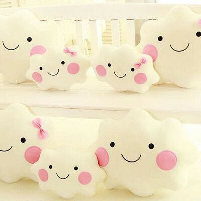 EG_ Cute Cloud Shaped Cushion Pillow Soft Toy Baby Nursery Kid Sofa Car Decor Ex