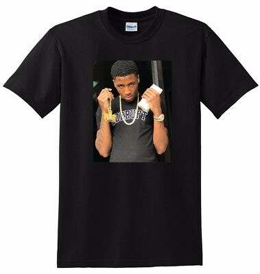 *NEW* NBA YOUNGBOY T SHIRT photo poster tee SMALL MEDIUM LARGE or XL