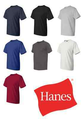 Hanes - Beefy-T Tall T-Shirts- 518T Sizes LT XLT 2XLT 3XLT 4XLT 6 Colors