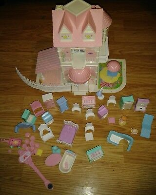 Precious Places Country Kitchen Cottage Fisher Price House furniture Vintage 88