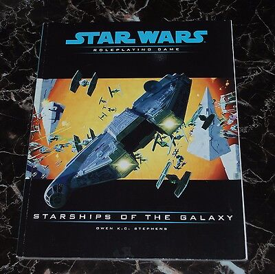 Star Wars RPG Starships of the Galaxy D20