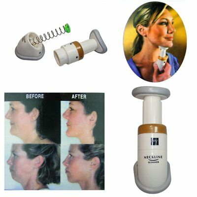 Exerciser Neckline Slimmer Chin Massager Thin Jaw Reduce Double Chin With Bag KP