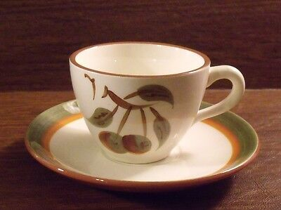 Stangl ORCHARD SONG Cup & Saucer MINT
