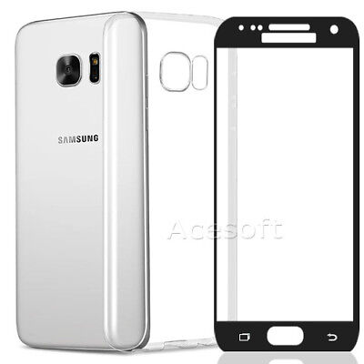 High Quality Screen Protector Silicone Case for Samsung Galaxy S7 SM-G930V Phone