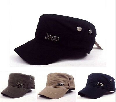 2018 Jeep Cadet Military style Army CAP Women Men Flat Classic Casual Hat New