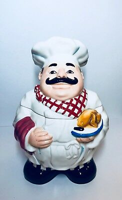 *BRAND NEW*  Chubby Fat Chef Cookie Jar