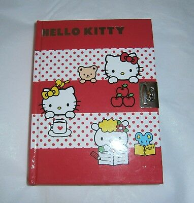 2011 Sanrio Hello Kitty Diary Hardbound Journal Diary Notebook (no lock)