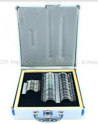 68 Pcs Optical Trial Lens Set Metal Rim