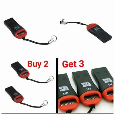 New Micro SD to USB  Memory Card T T-Flash Reader Adapter For SDHC/SDXC