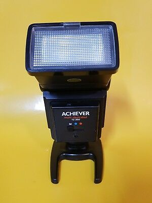 Achiever Tz-250 Multi Dedicated Flash Show Mount And Tilt Made In Hong Kong Used