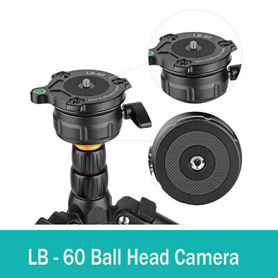 Ball Head Camera Leveler Leveling Base for Tripod Monopod DSLR Cameras LB - 60