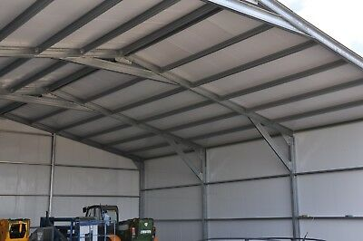 **REDUCED** Large Hangar/Insulated Warehouse/Portal Steel Frame Building