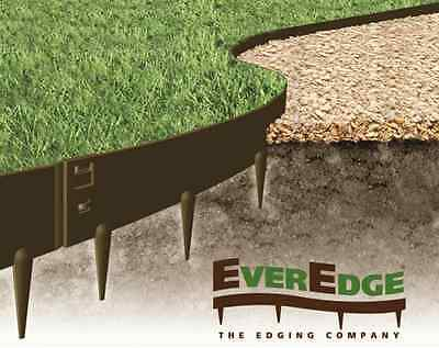 Everedge Classic Metal Garden Lawn Grass Border Drive Path Edging 5 Metre Pack