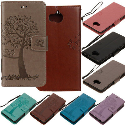 For Huawei Y5 Y6 Y7 2017 Nova 2i Magnetic Leather Stand Wallet Card Case Cover