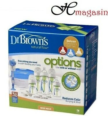 Dr Brown's Options Anti Colic New Born Gift Set