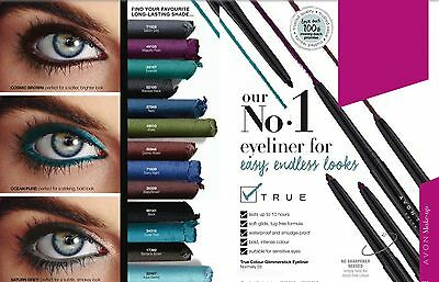 Avon True Colour Glimmerstick Eyeliner - VARIOUS - You Choose - NEW (RRP £6.00)