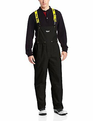 Viking Journeyman Waterproof Industrial Bib Pant, Black, Medium