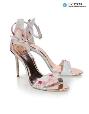 70f1257f1104 TED BAKER WOMEN S Charv Strappy Printed Heels - Oriental Blossom ...