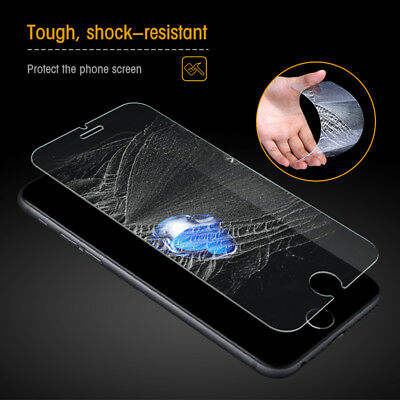 100% Genuine For Apple iPhone 6/6s Tempered Glass Screen Protector Pack Of 10