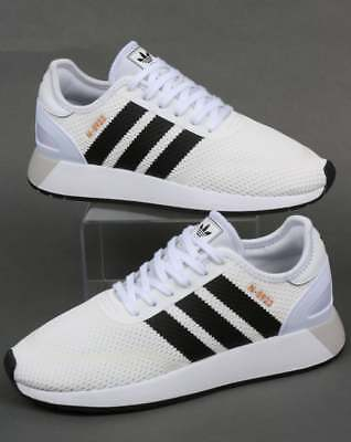 adidas N-5923 Trainers in White   Black retro look modern runner Originals  SALE 30dd7a614