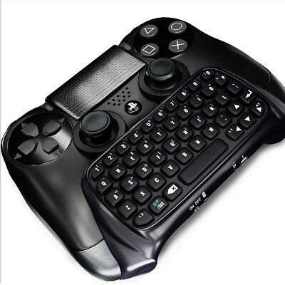 Wireless Bluetooth Mini Keyboard Keypad Chatpad For PS4 Handle Game Controller